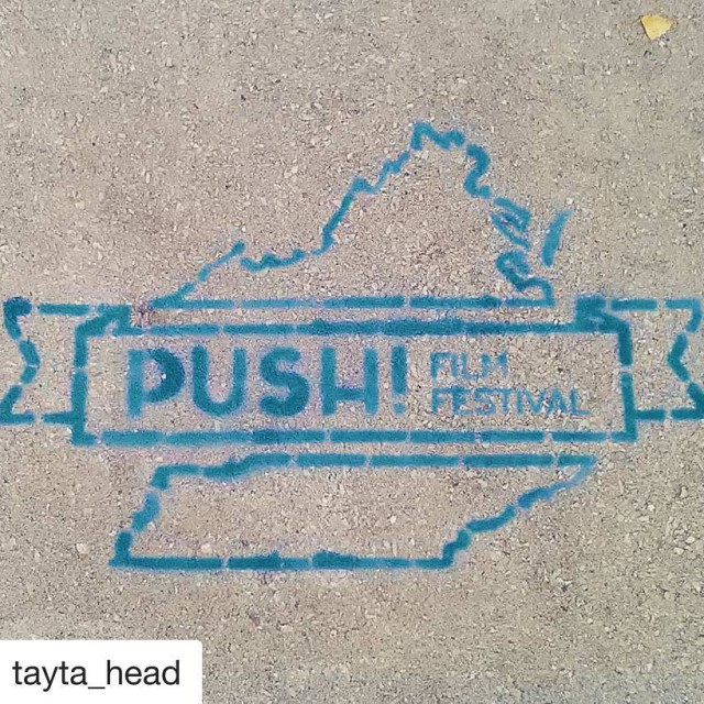 Repost taytahead  Had fun at the pushfilmfest this afternoonhellip