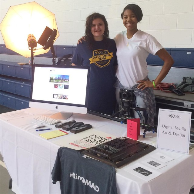 Our booth today for the Academic Showcase this morning athellip