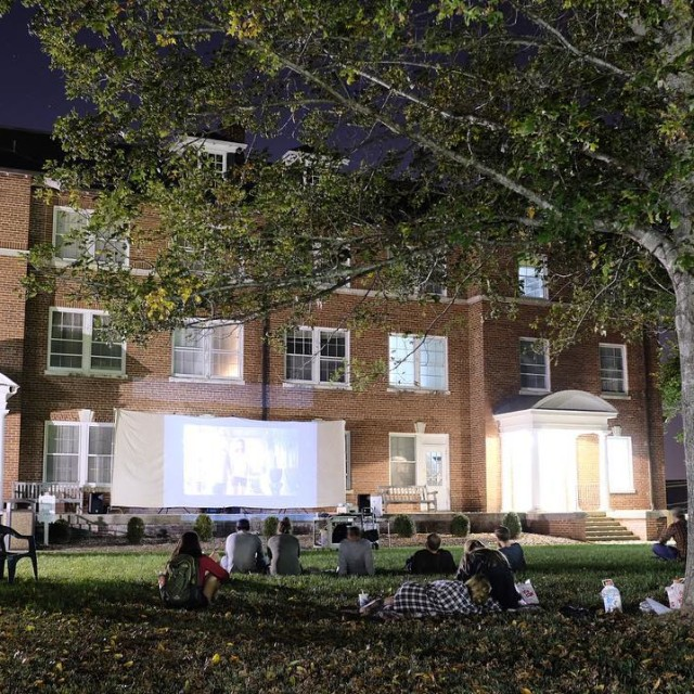 Film Night on the Oval! Thanks to everyone who camehellip