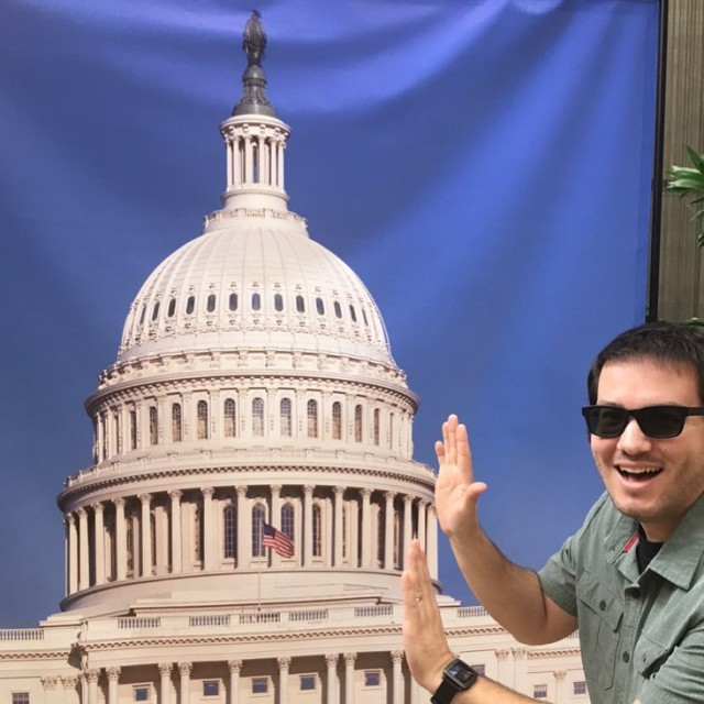 Good thing I was there to keep the Capitol buildinghellip